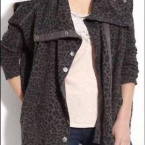 Leopard Snap Jacket Free People